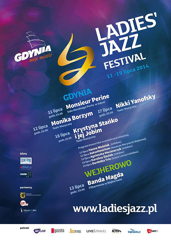 Gdynia Ladies Jazz Festival, Poland 2014