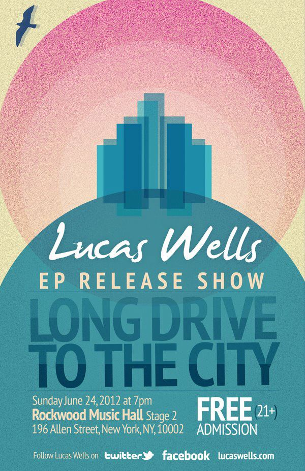 Lucas Wells, Rockwwod Music Hall, NYC 2012