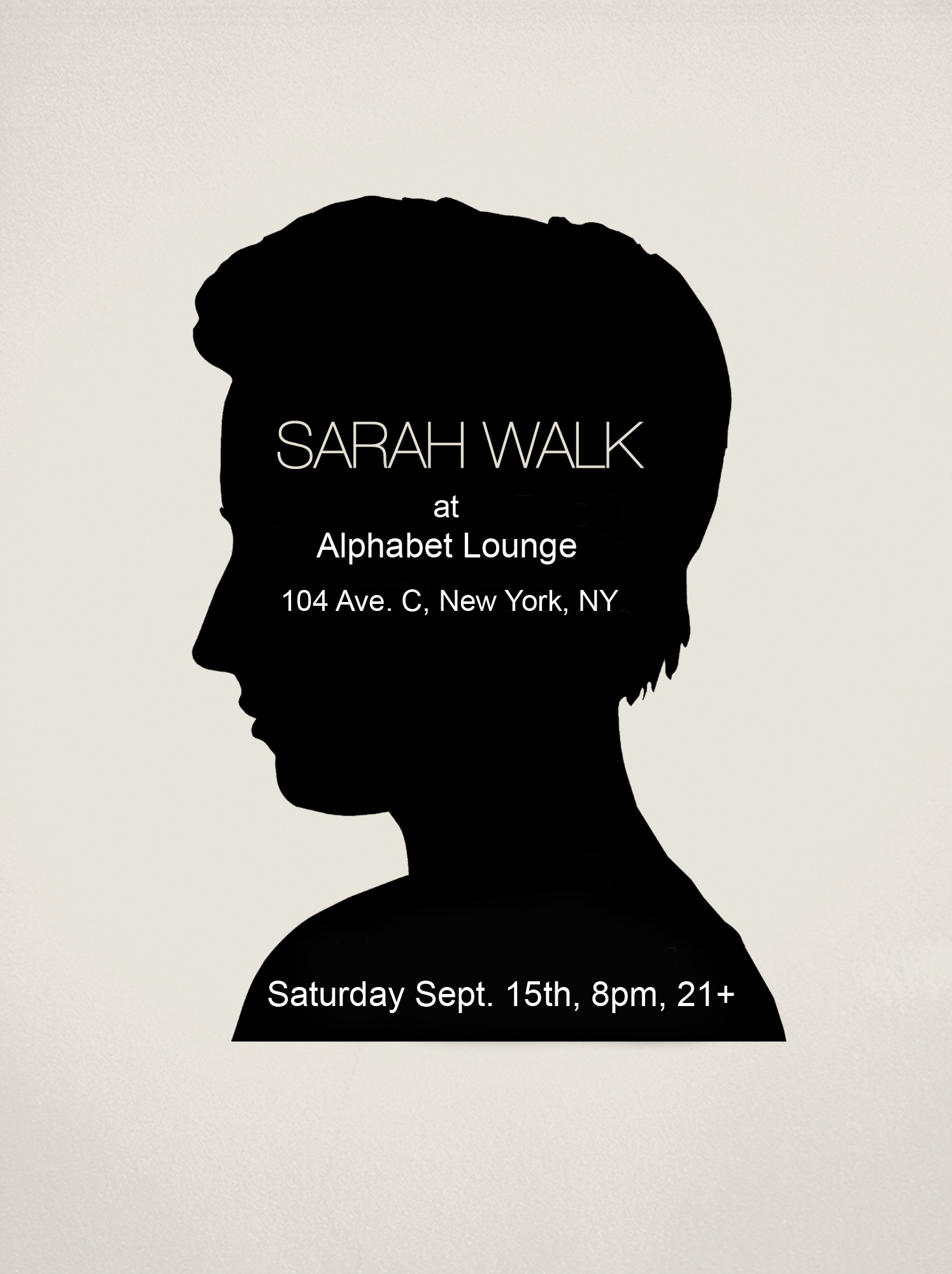 Sarah Walk, New York City 2011