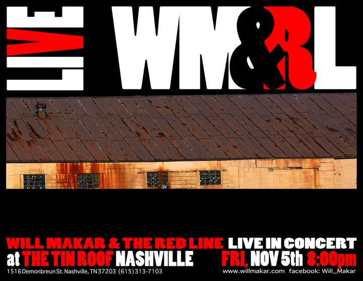 WM&RL, The Tin Roof, Nashville 2010